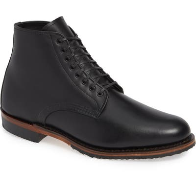 Red Wing Williston Plain Toe Boot- Black