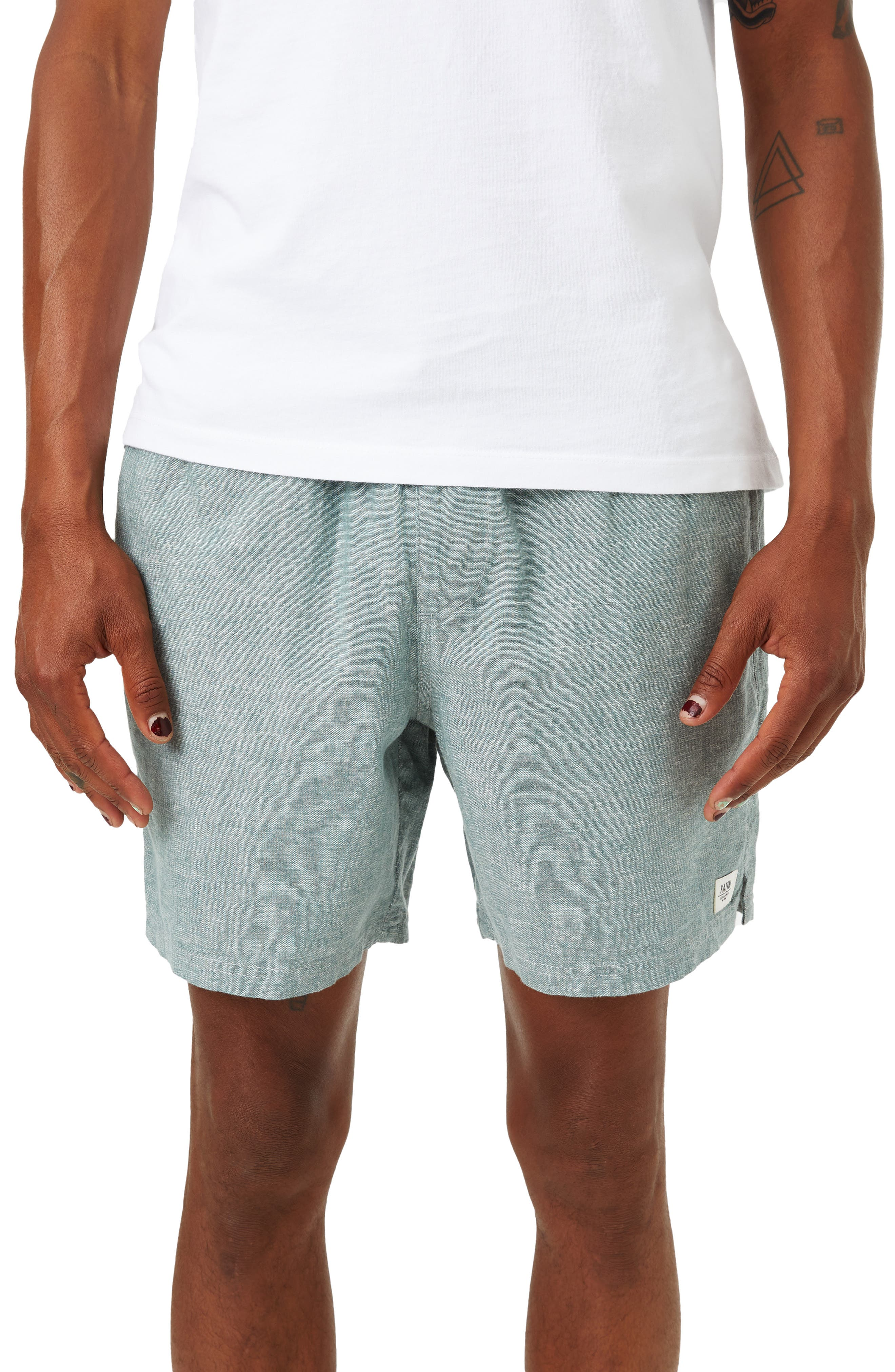 Isaiah Walkshort Cotton & Linen Shorts