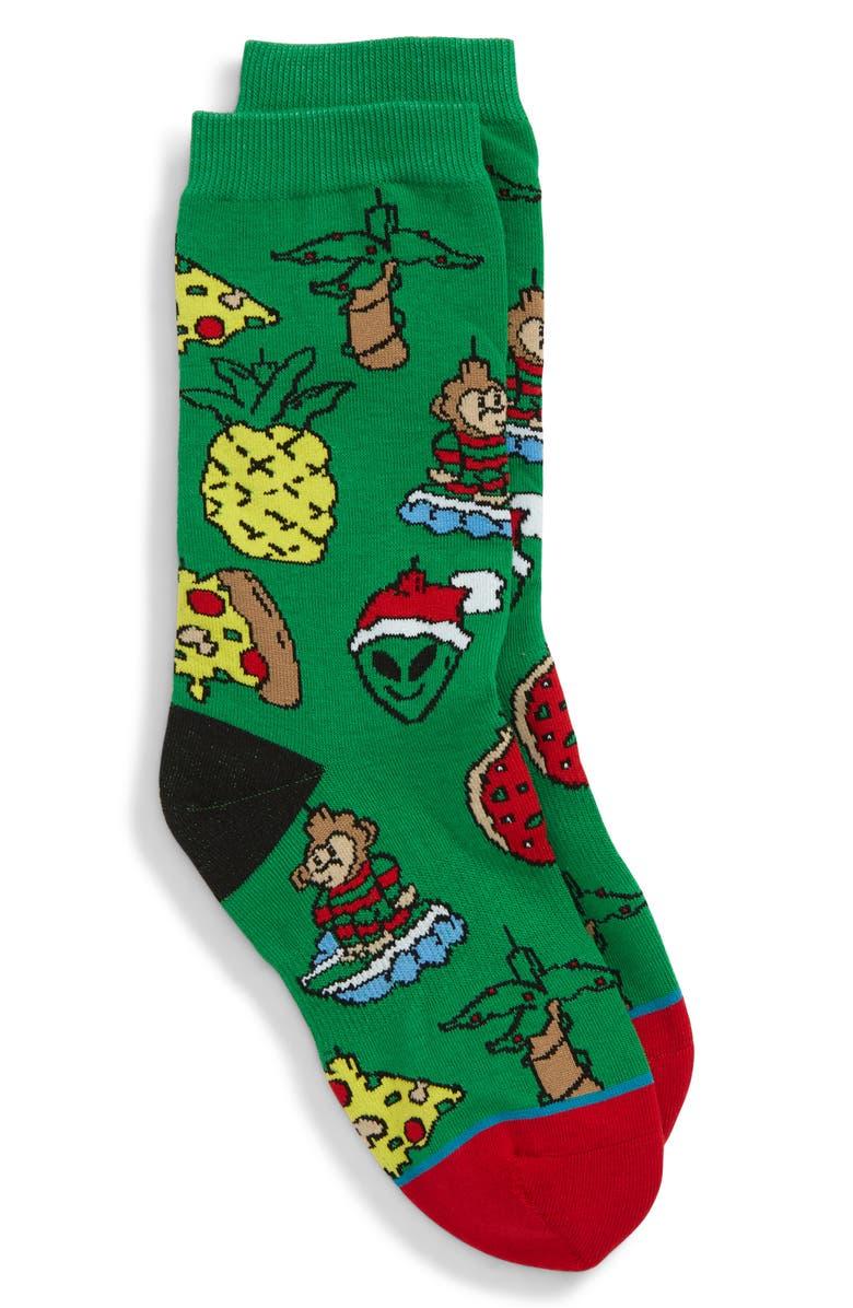 STANCE Christmas Ornaments Socks, Main, color, 310