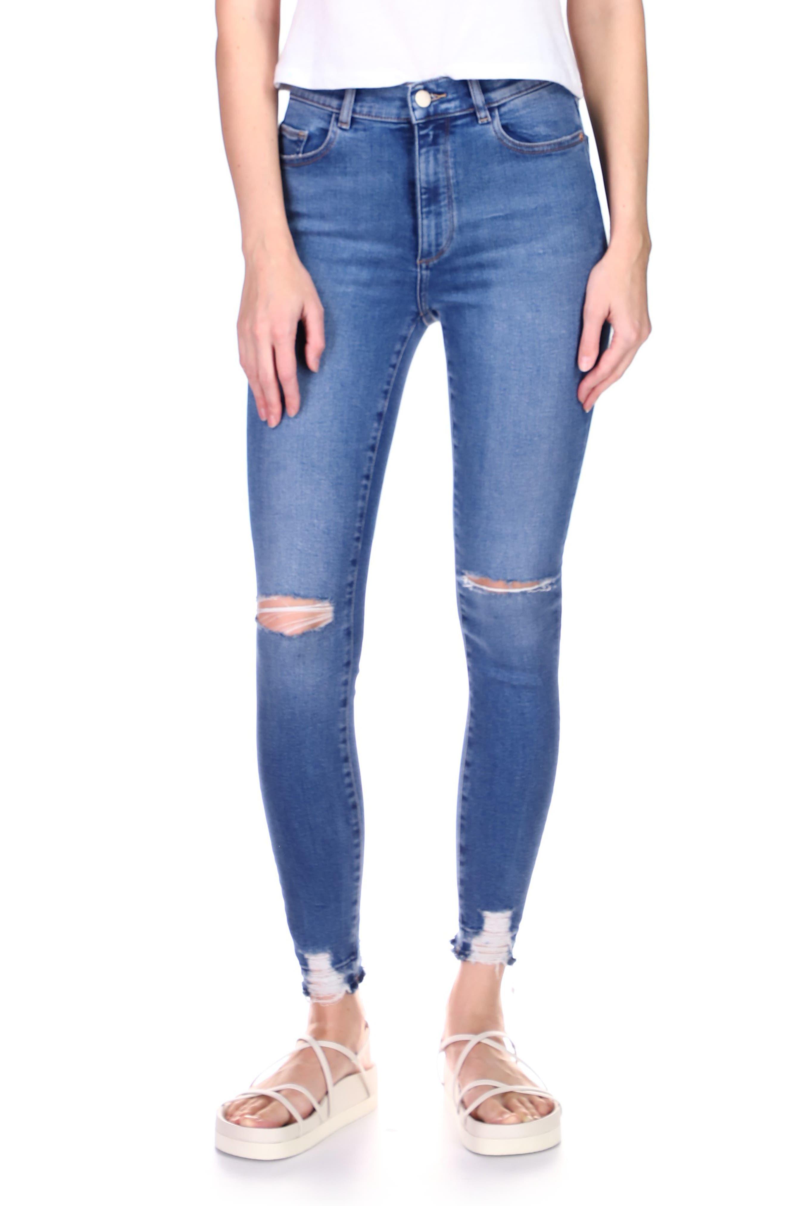 1961 Farrow High Waist Ankle Skinny Jeans