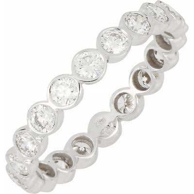 Bony Levy Diamond Bezel Eternity Band Ring (Nordstrom Exclusive)
