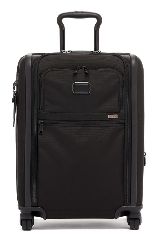 Tumi Alpha 3 Collection 22-inch Wheeled Dual Access Continental Carry-on In Black