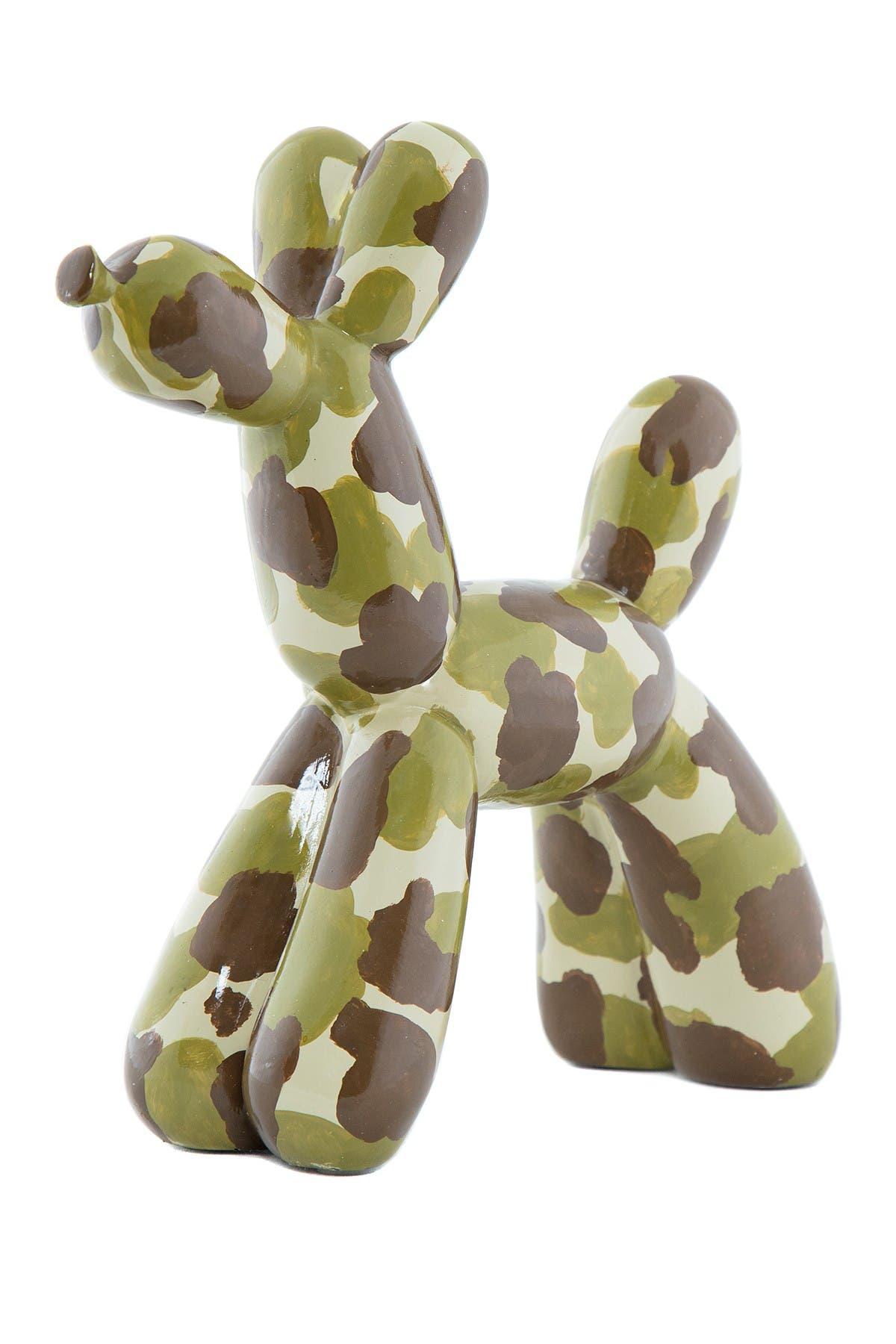 Image of Interior Illusions Camouflage Balloon Dog