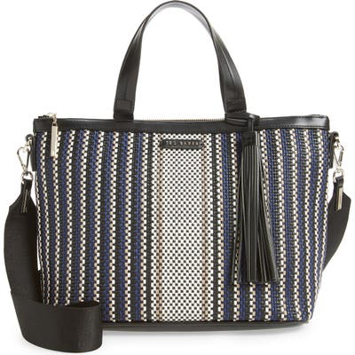 Ted Baker London Aylah Small Woven Tote - Blue