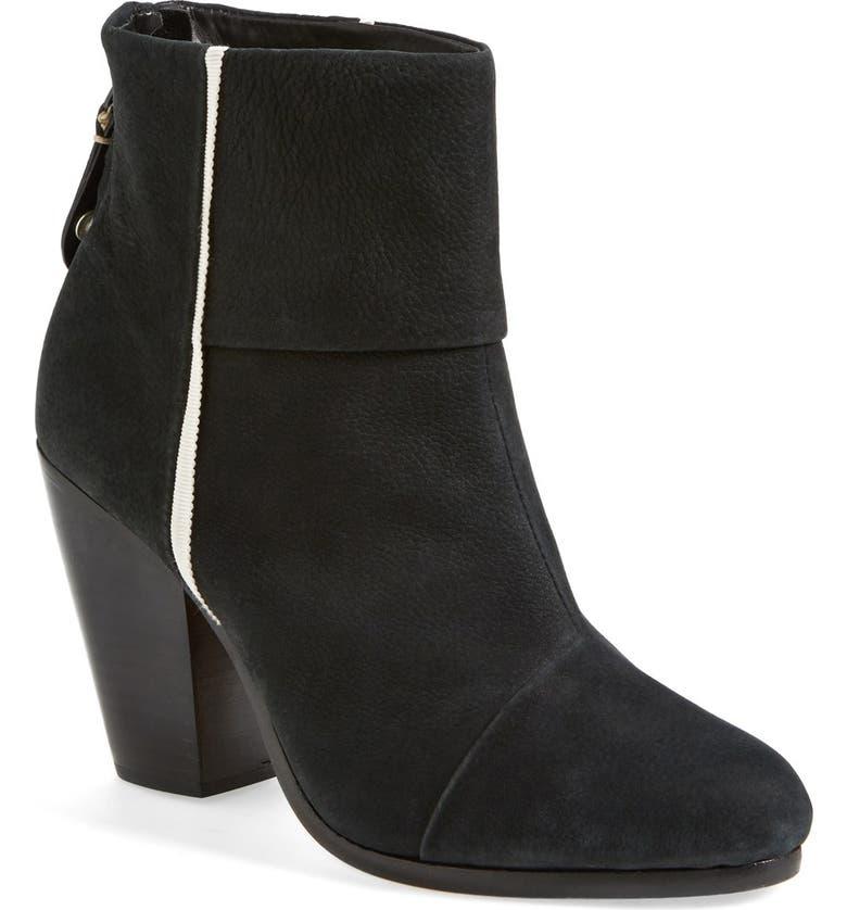 RAG & BONE 'Classic Newbury' Boot, Main, color, 001