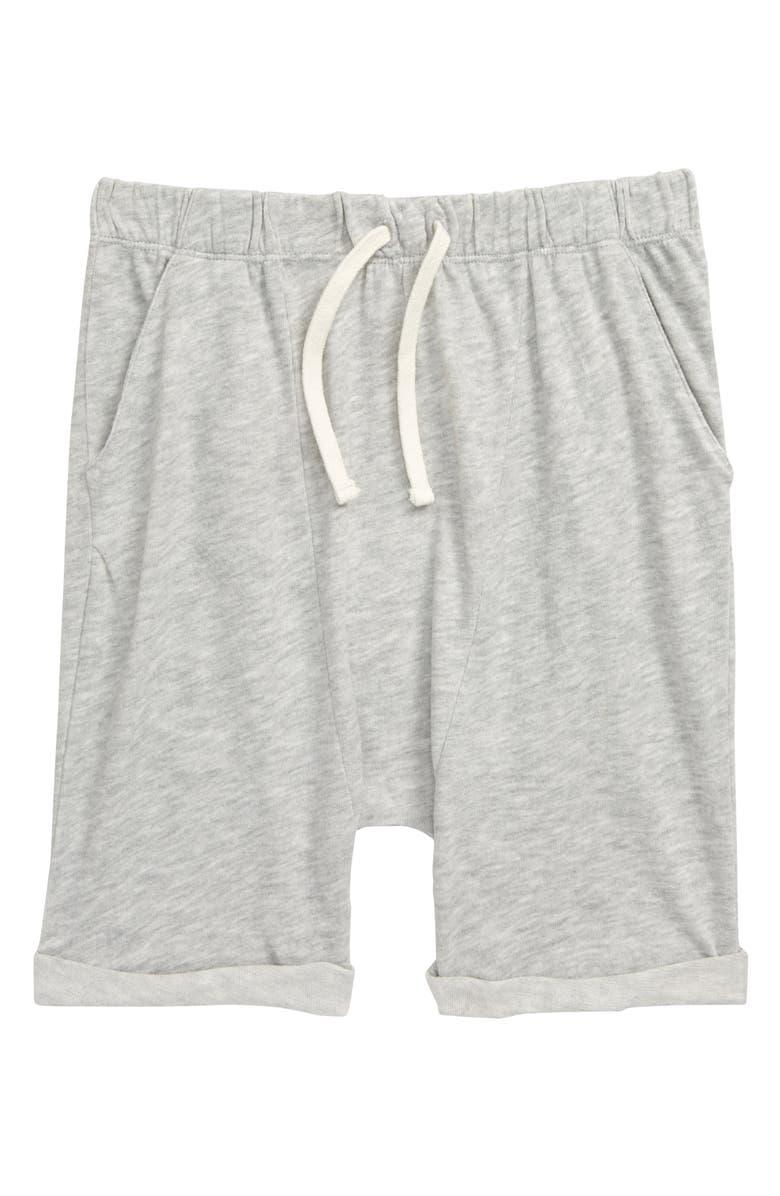 STEM Beach Shorts, Main, color, GREY ASH HEATHER