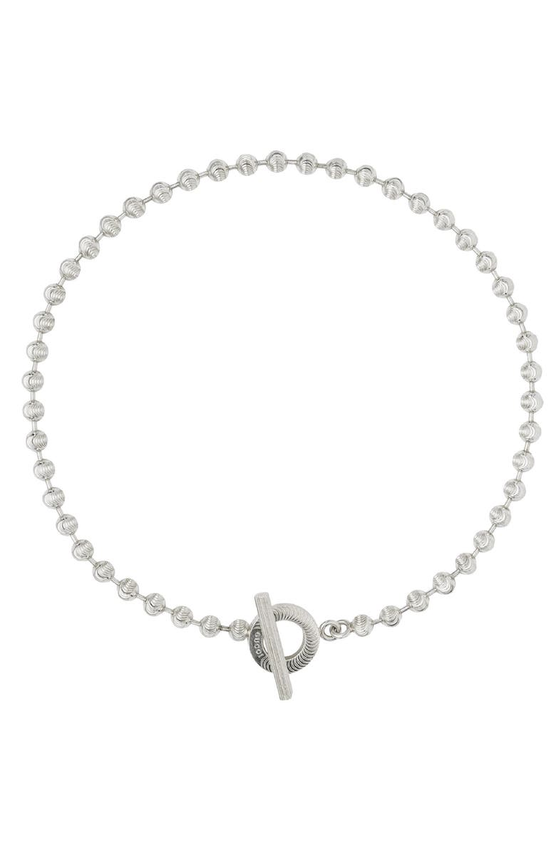 Gucci Boule Toggle Necklace Nordstrom