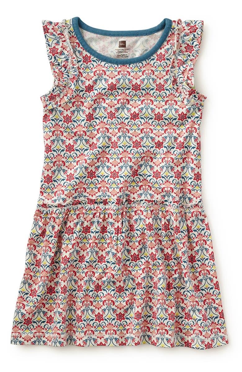 \'Capo d\'Opera\' Flutter Sleeve Dress