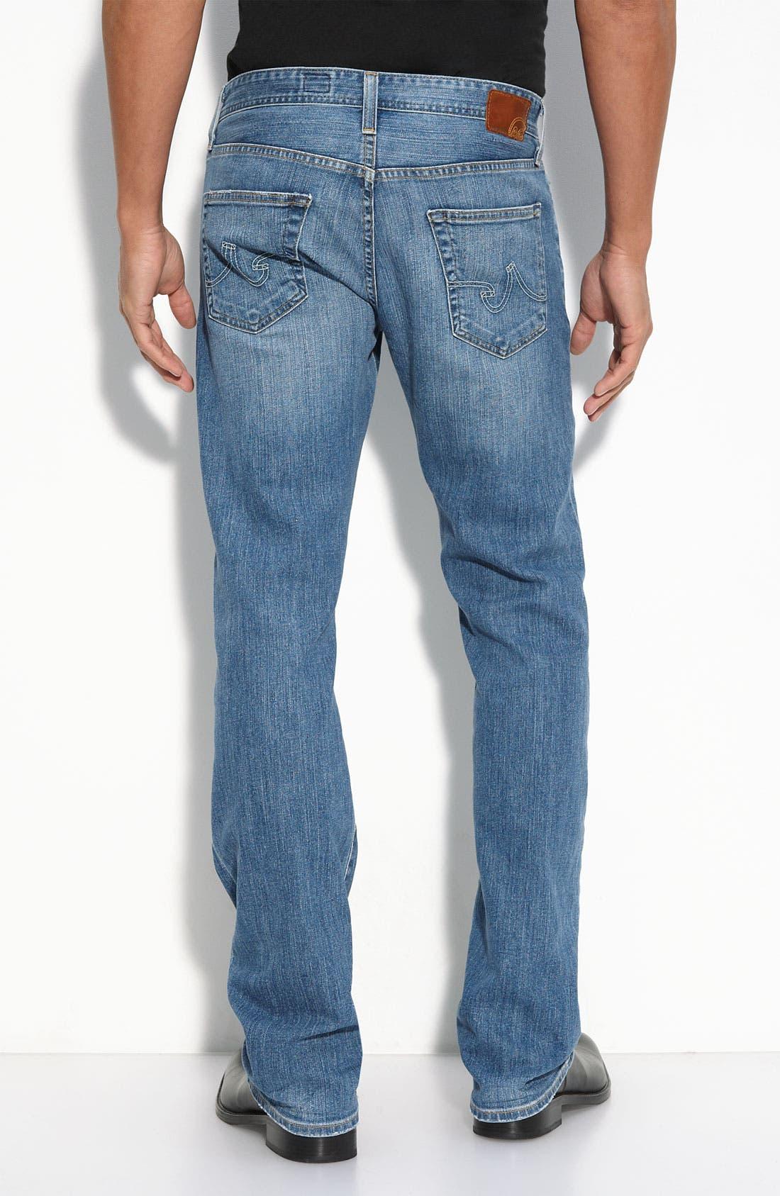 ,                             'Protégé' Straight Leg Jeans,                             Alternate thumbnail 43, color,                             450
