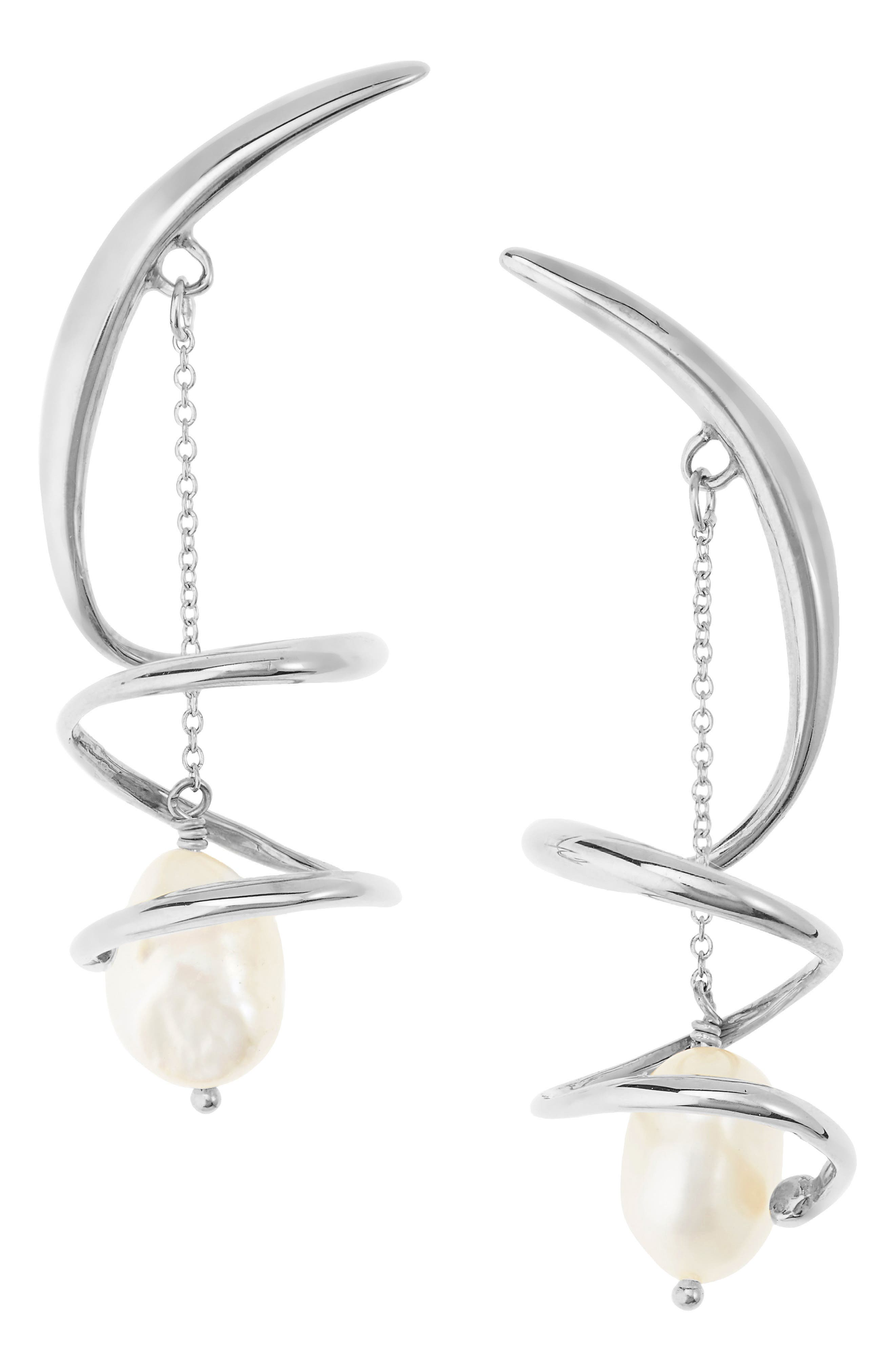 Pirouette Drop Earrings
