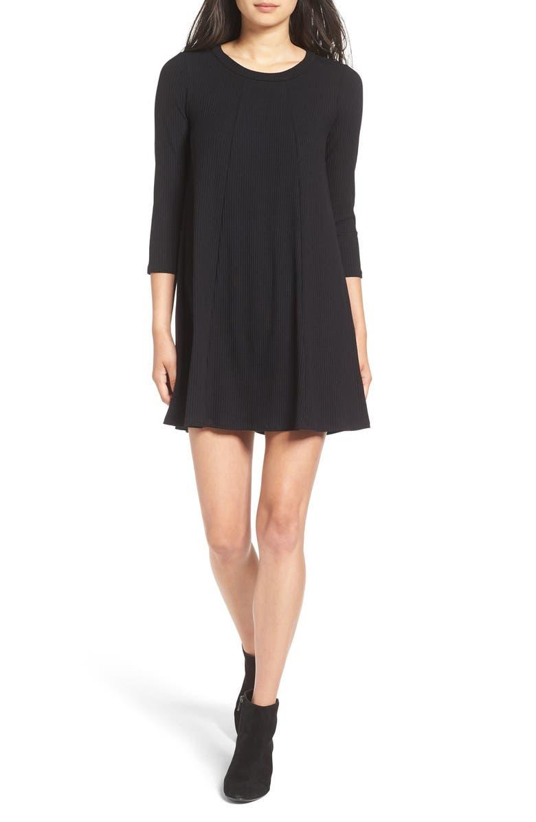 --- Leah' Shift Dress, Main, color, 001