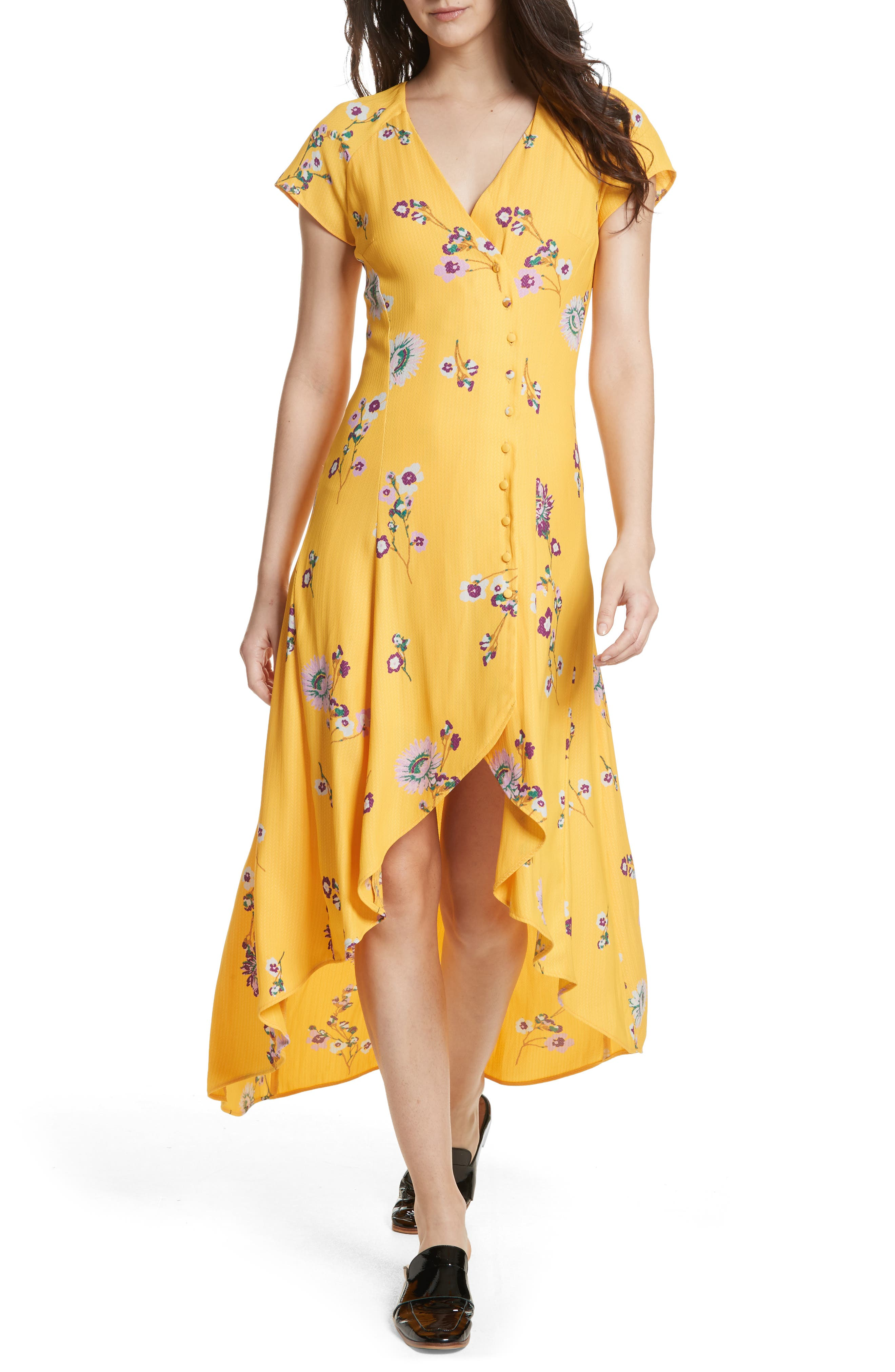 ,                             Lost in You Midi Dress,                             Main thumbnail 17, color,                             700
