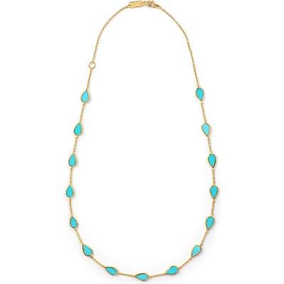 Ippolita Mini Turquoise Pear Necklace