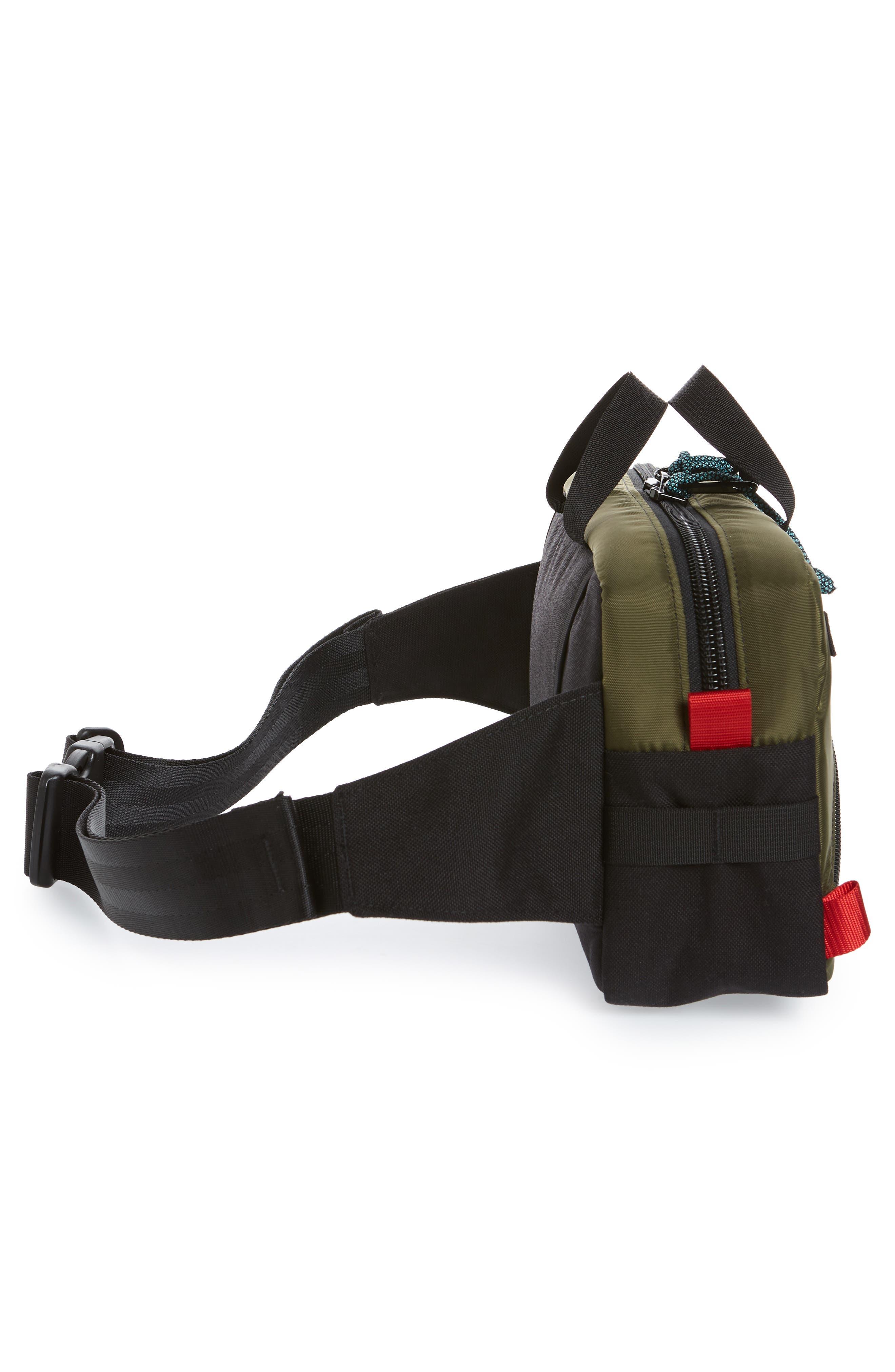 ,                             Quick Pack Belt Bag,                             Alternate thumbnail 8, color,                             OLIVE/ BLACK