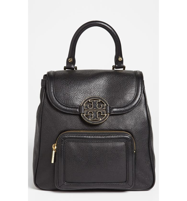 TORY BURCH 'Amanda - Mini' Backpack, Main, color, 001