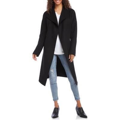 Karen Kane Belted Coat, Black