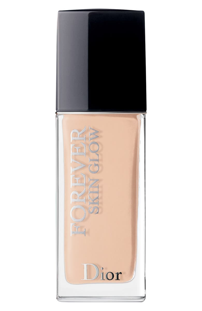 DIOR Forever Skin Glow 24-Hour Foundation SPF 35, Main, color, 1 COOL ROSY