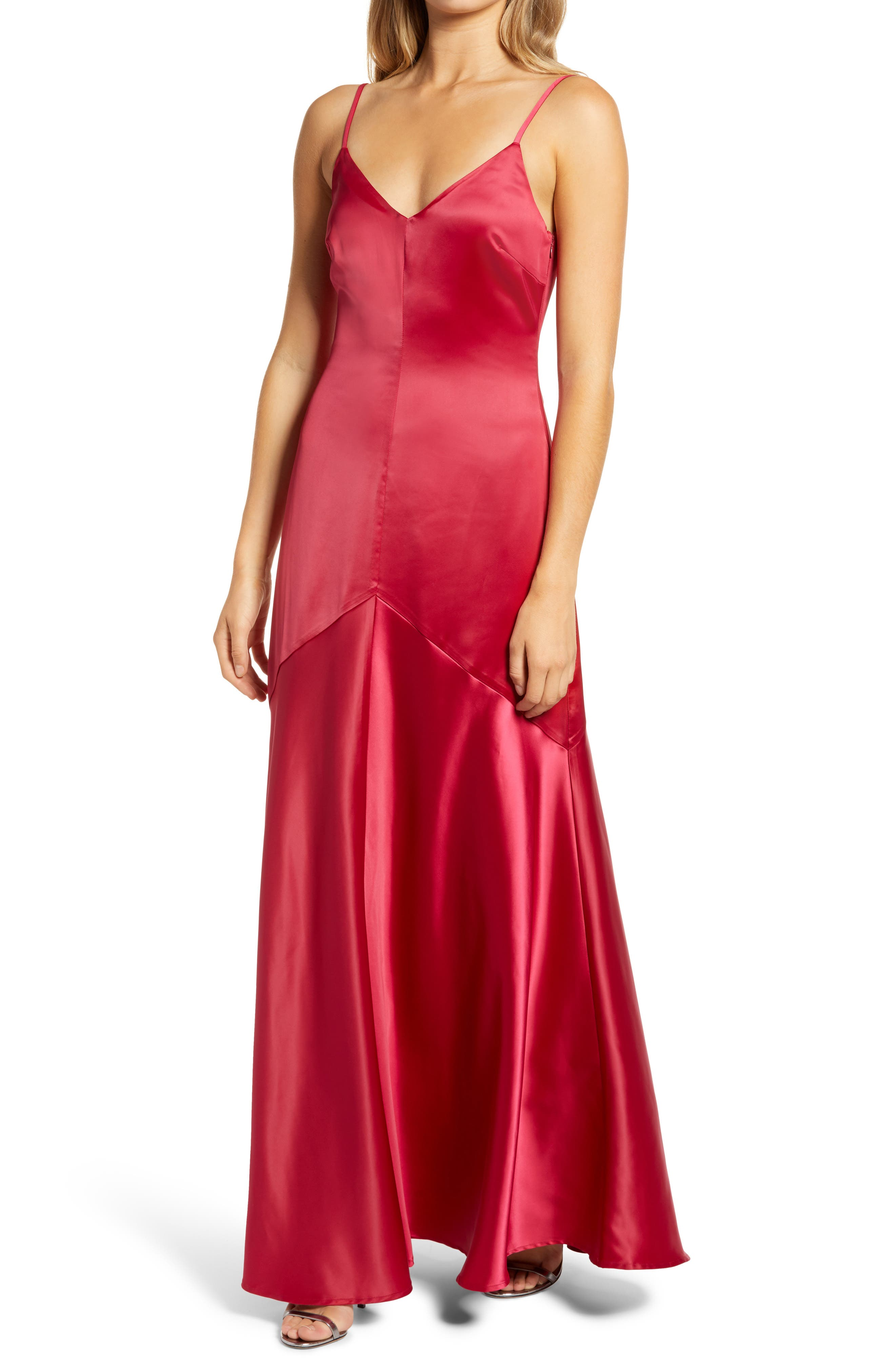 Image of Bestall Buena Satin Gown