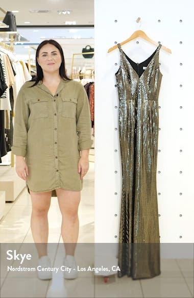 Harper Mermaid Gown, sales video thumbnail