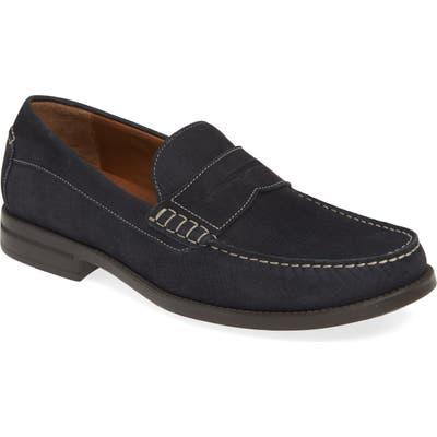 Johnston & Murphy Chadwell Penny Loafer, Blue