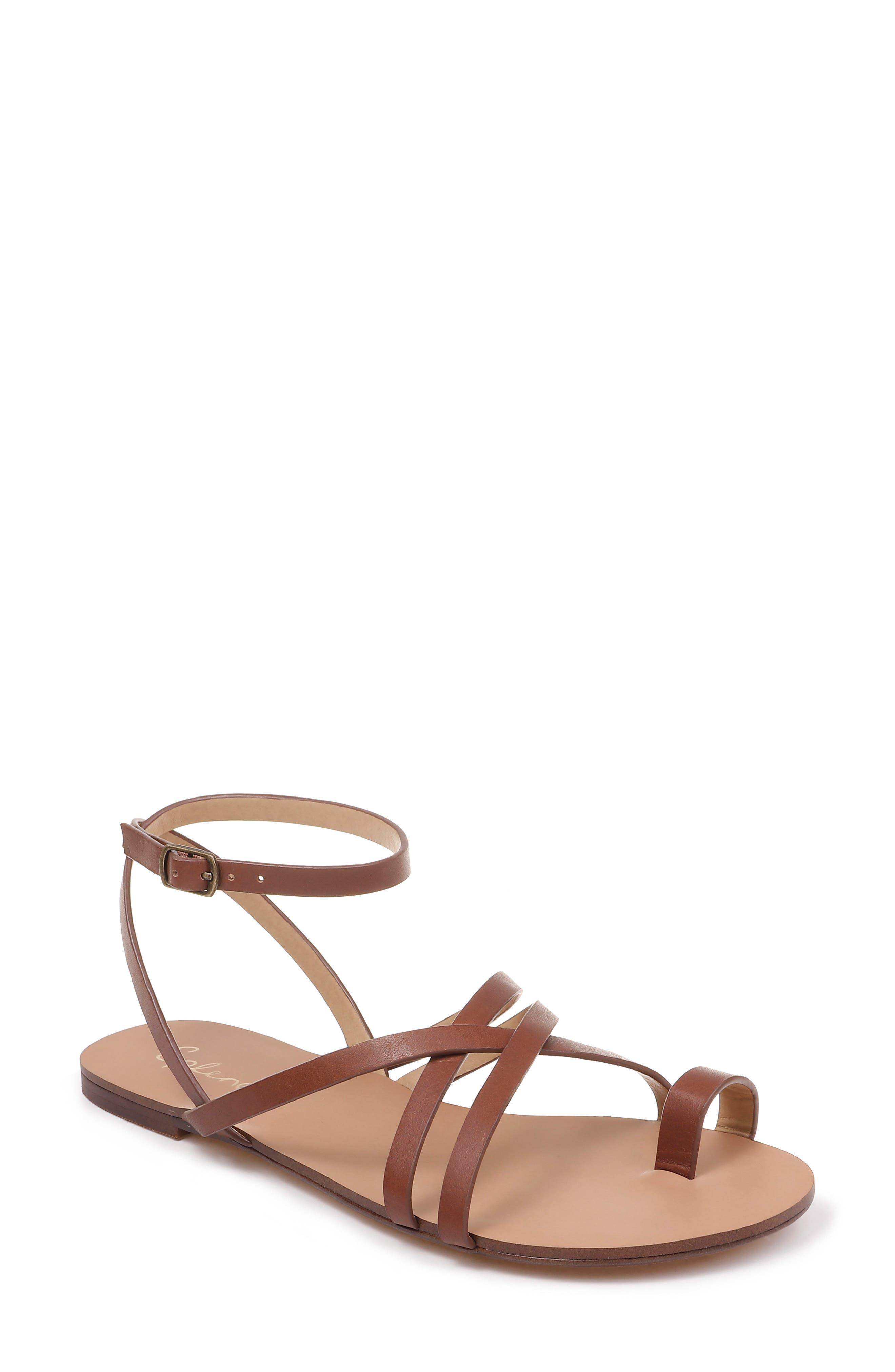 Splendid Sully Strappy Toe Loop Sandal- Brown