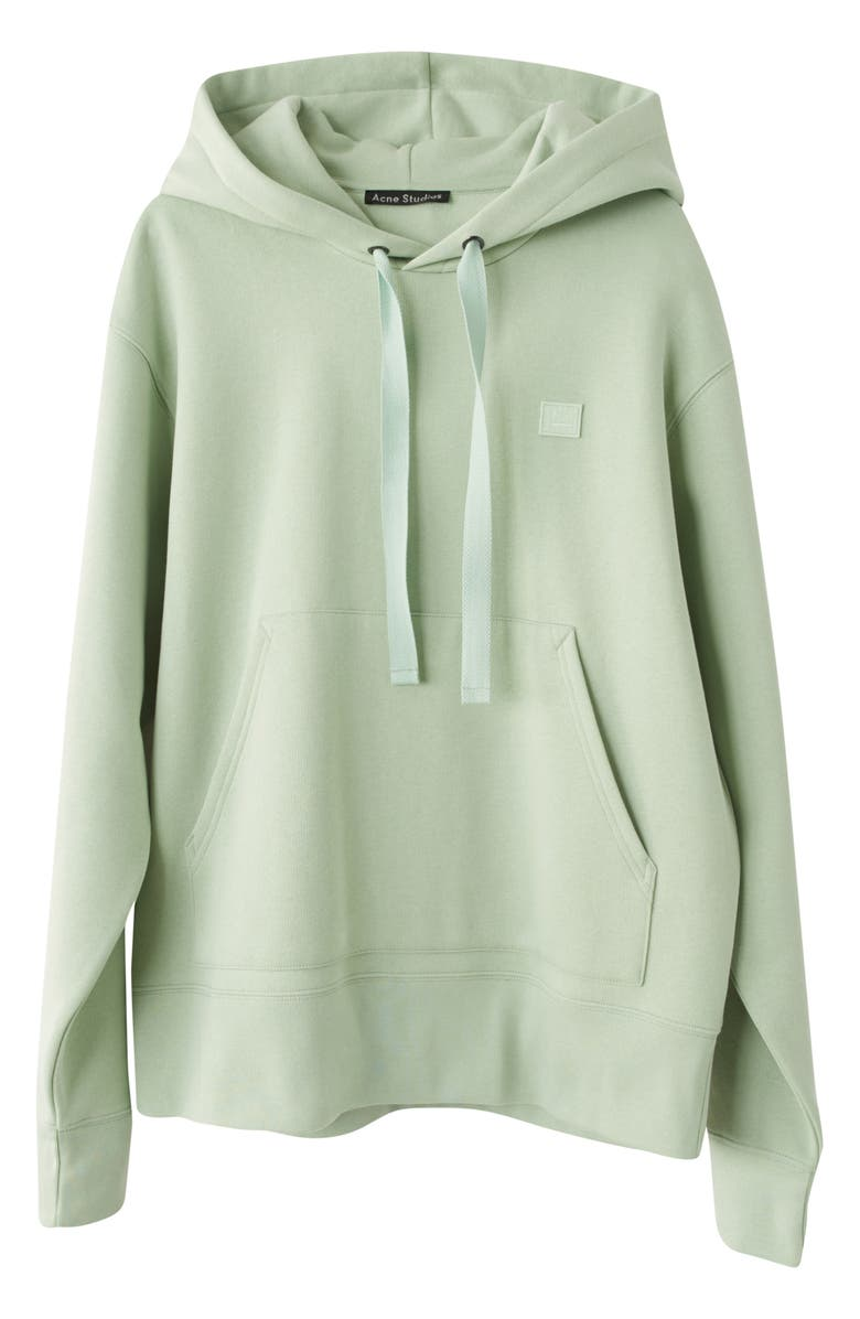 ACNE STUDIOS Ferris Face Hoodie, Main, color, PISTACHIO GREEN