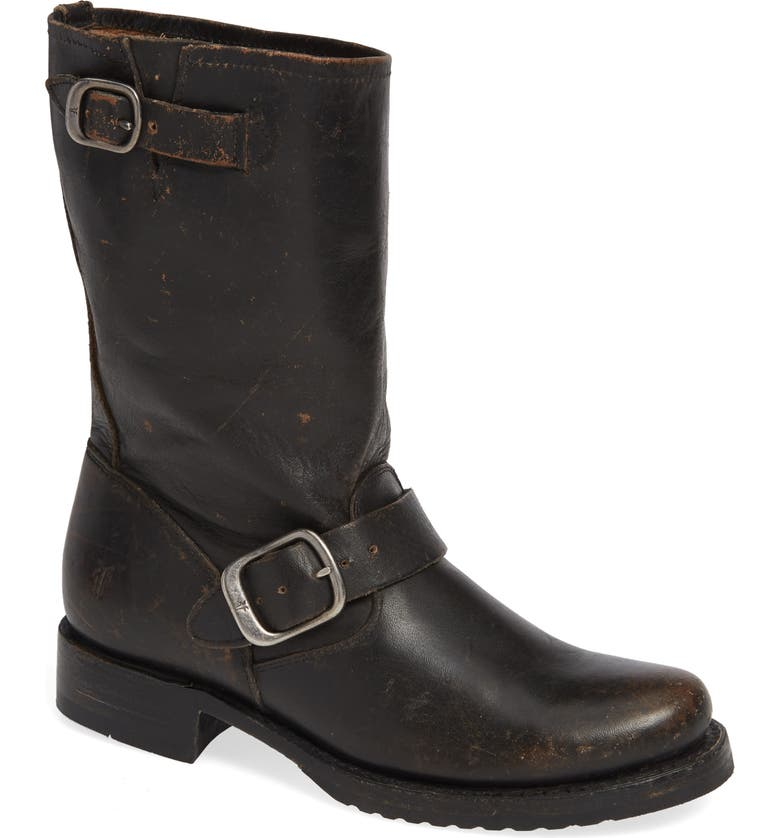 FRYE 'Veronica' Short Boot, Main, color, 002