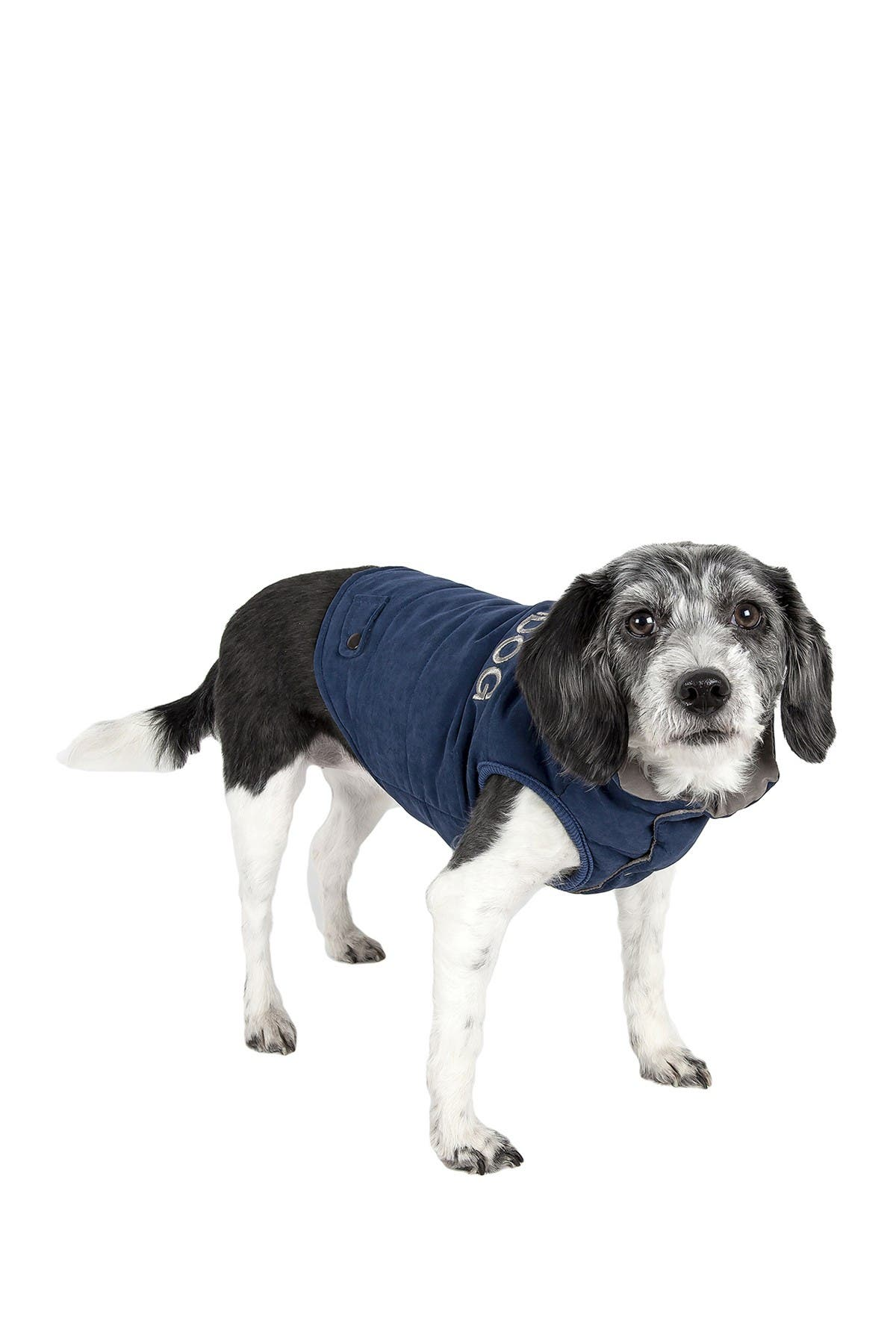 Image of PETKIT Touchdog Waggin Swag Reversible Insulated Pet Coat - X-Large
