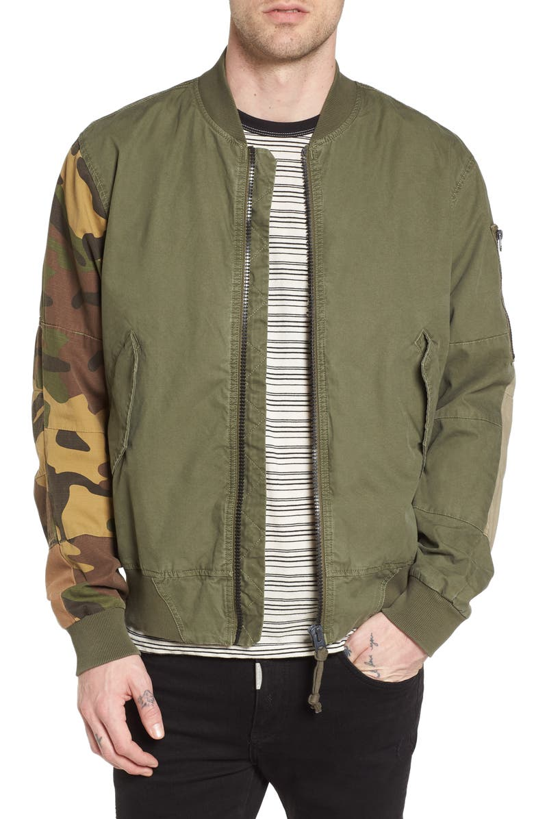 50% off classic chic new style G-Star Raw Rackam SPM Bomber Jacket | Nordstrom
