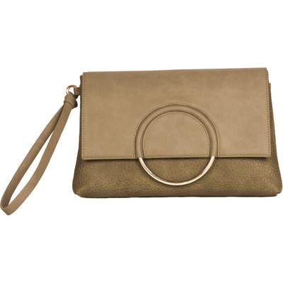 Urban Originals Custom Vegan Leather Wristlet Clutch - Beige