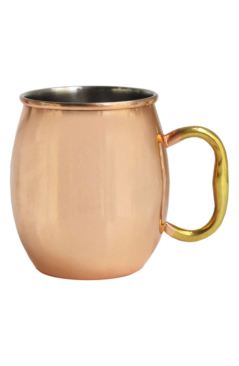 AMERICAN ATELIER Moscow Mule Mug, Main, color, COPPER