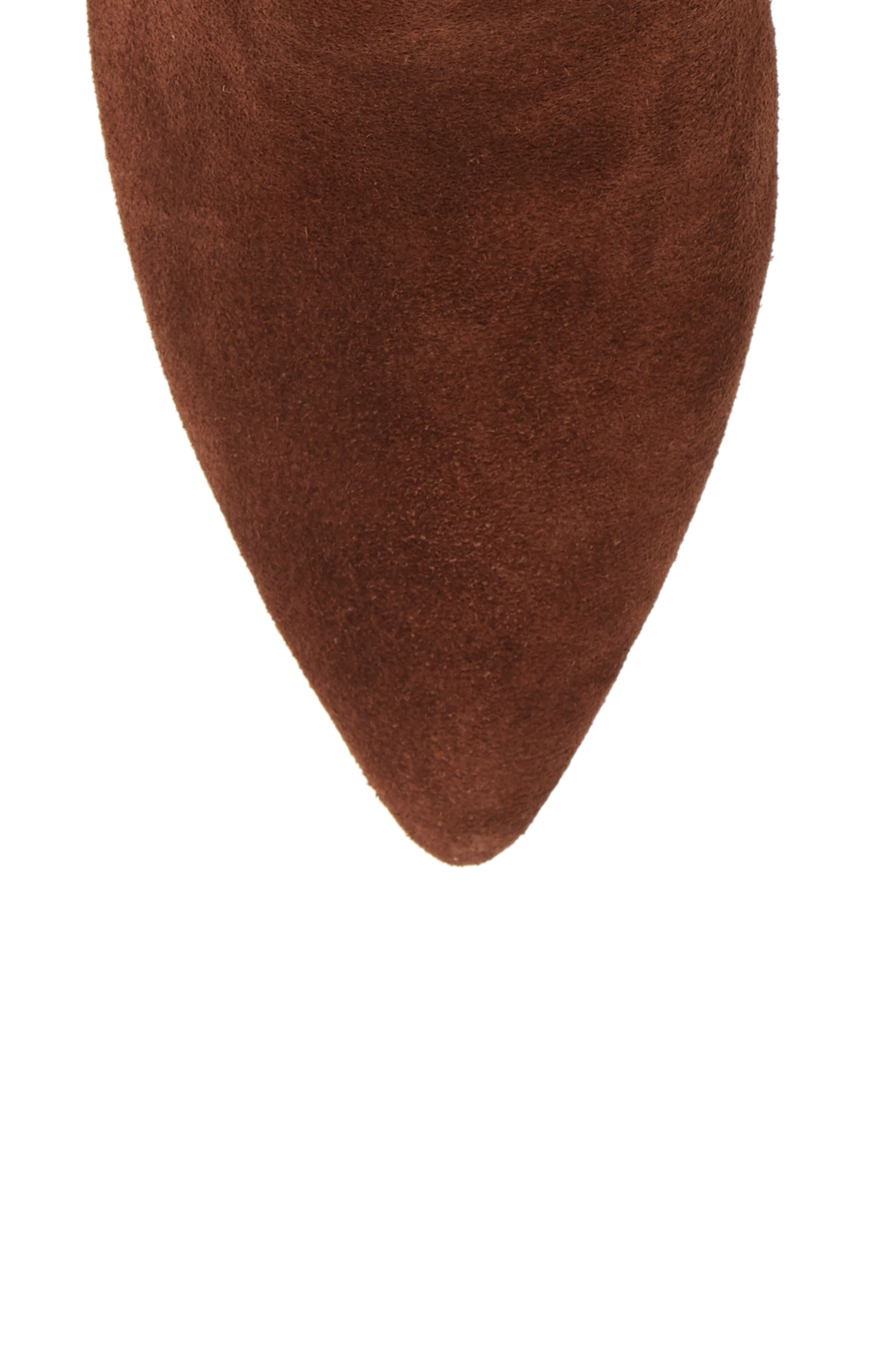 ,                             Natthan Slouchy Bootie,                             Alternate thumbnail 5, color,                             WALNUT SUEDE
