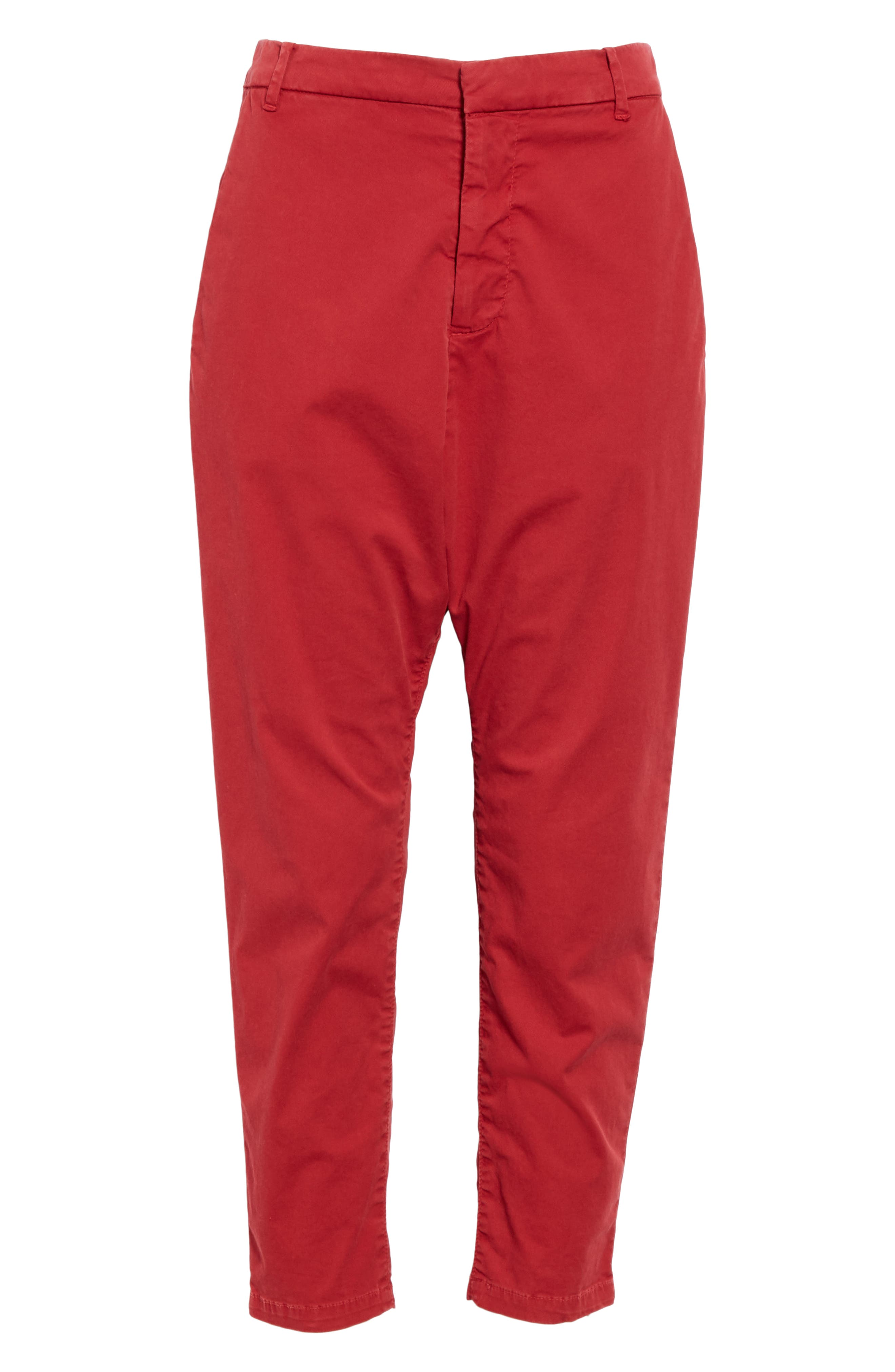 ,                             Paris Pants,                             Alternate thumbnail 7, color,                             SUNKISSED RED