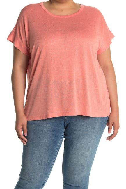 Image of Bobeau Side Slit Caty T-Shirt