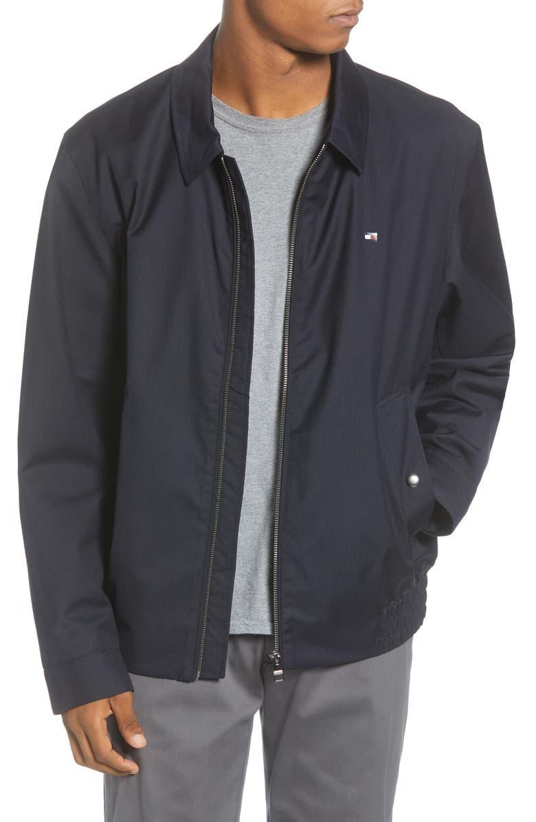 TOMMY HILFIGER Ivy Water Repellent Regular Fit Jacket, Main, color, 400
