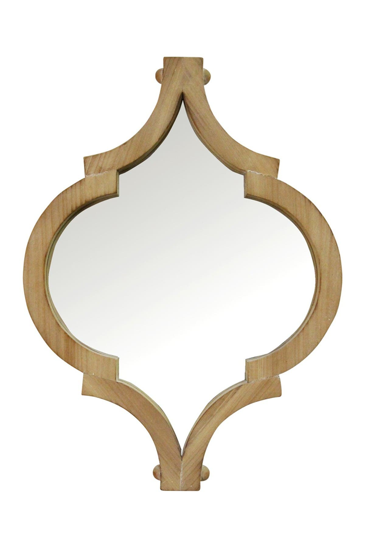 Stratton Home 19 Amira Wood Wall Mirror Hautelook