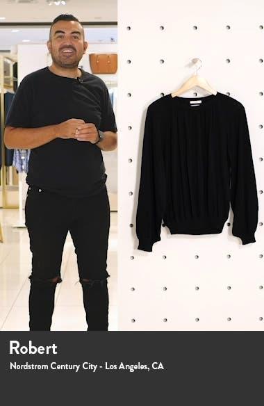 Balloon Sleeve Cashmere Sweater, sales video thumbnail
