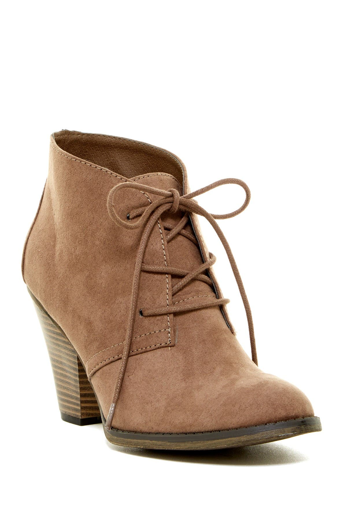 Image of MIA Shawna Lace-Up Bootie