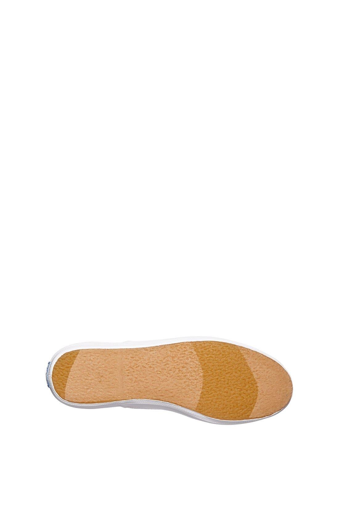 ,                             'Champion' Canvas Sneaker,                             Alternate thumbnail 5, color,                             NEW WHITE