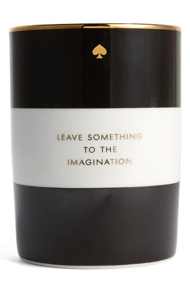 KATE SPADE NEW YORK 'imagination' scented candle, Main, color, 001