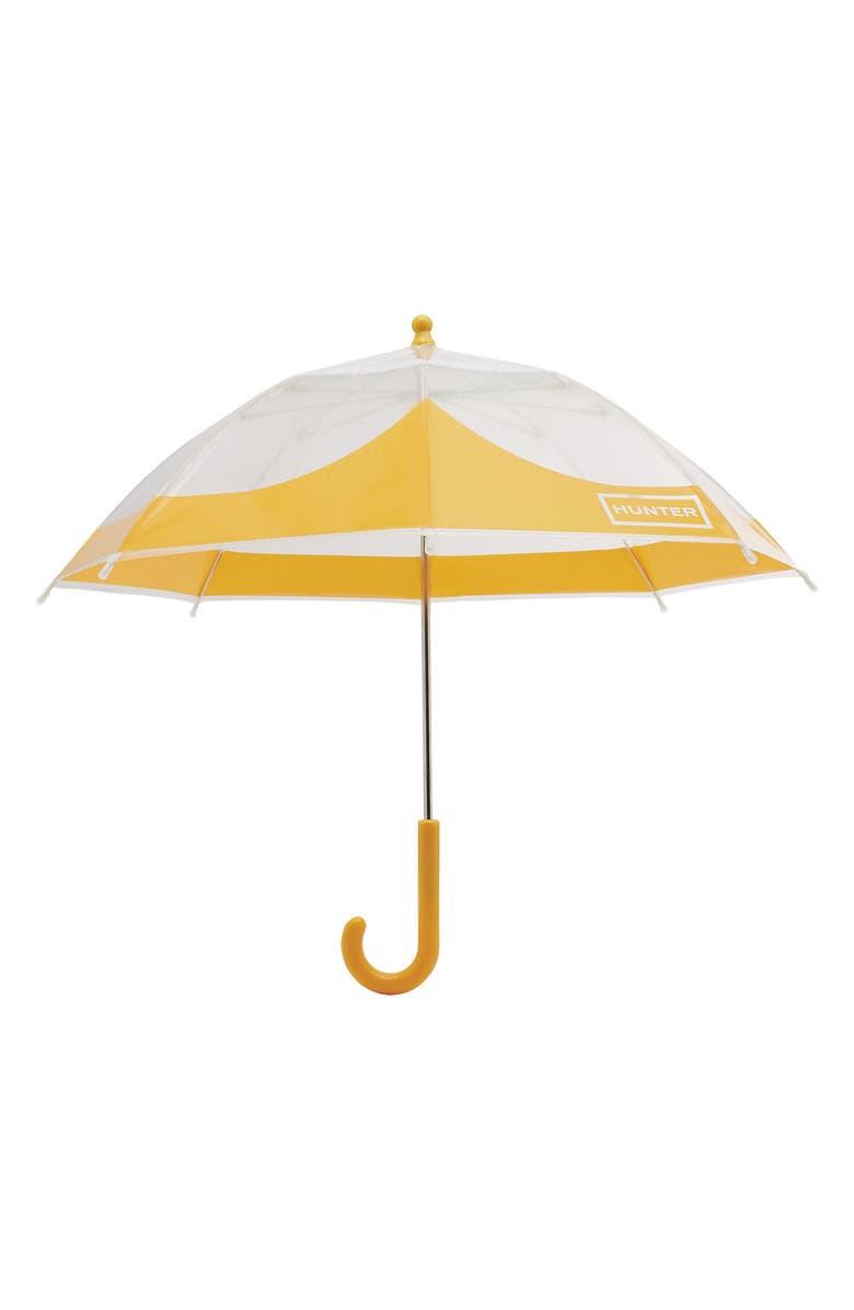 HUNTER Moustache Bubble Umbrella, Main, color, YELLOW