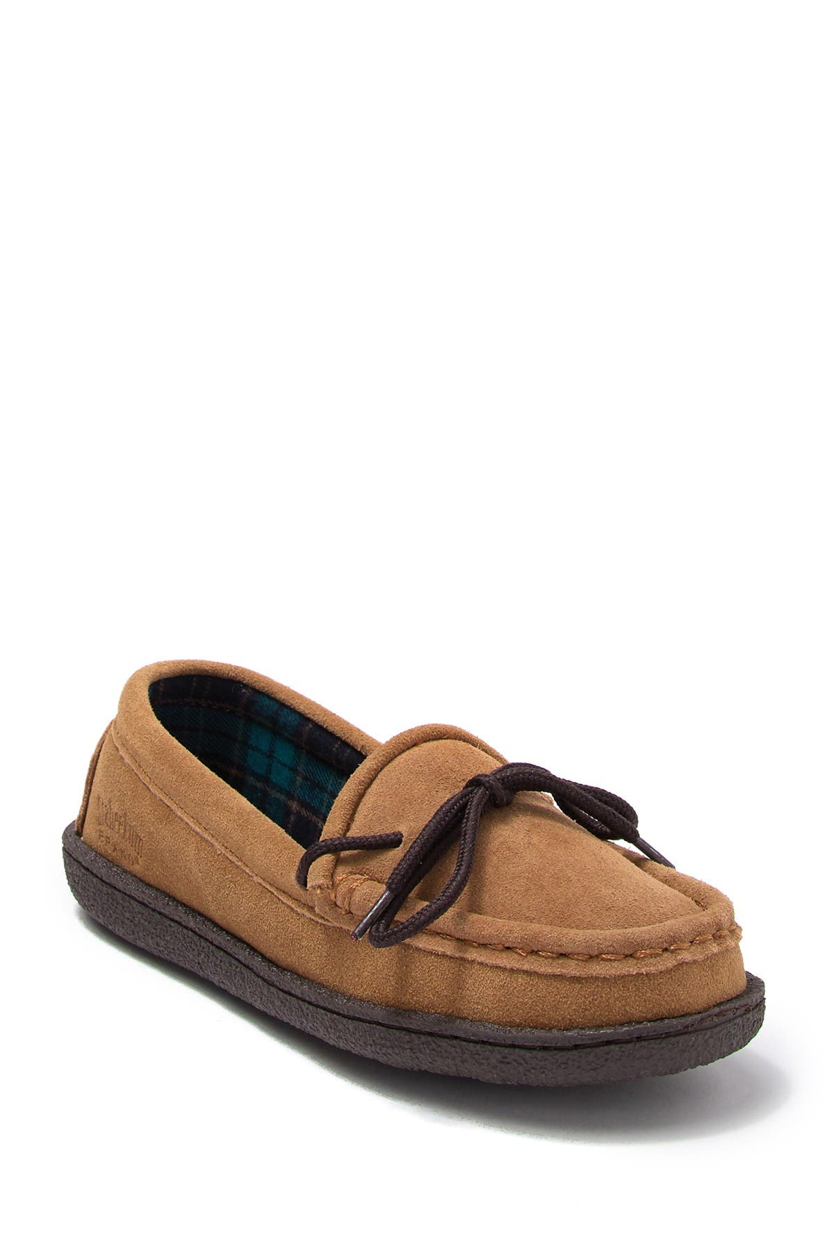 Image of STAHEEKUM Eden Suede Flannel Loafer