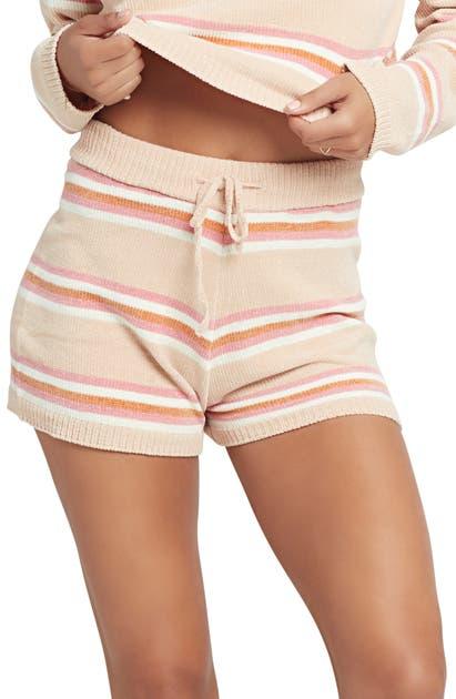 L*space Sun Seeker Cover-up Shorts In Sun Seeker Stripe