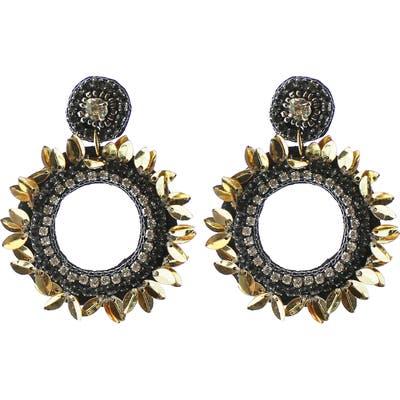 Panacea Drop Circle Earrings