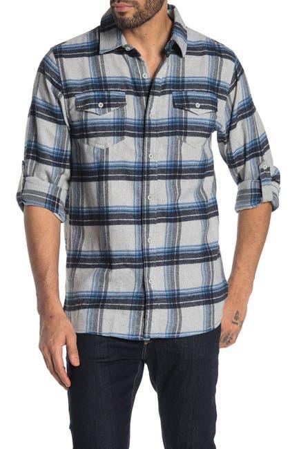 Image of Burnside Plaid Flannel Shirt