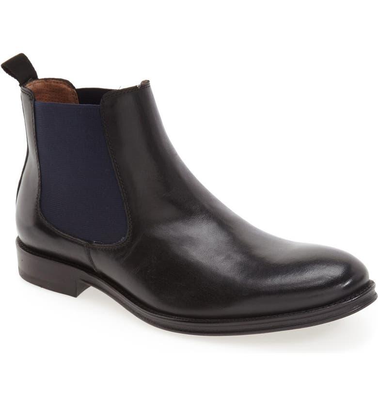 JOHNSTON & MURPHY J&M 1850 Grayson Chelsea Boot, Main, color, 001