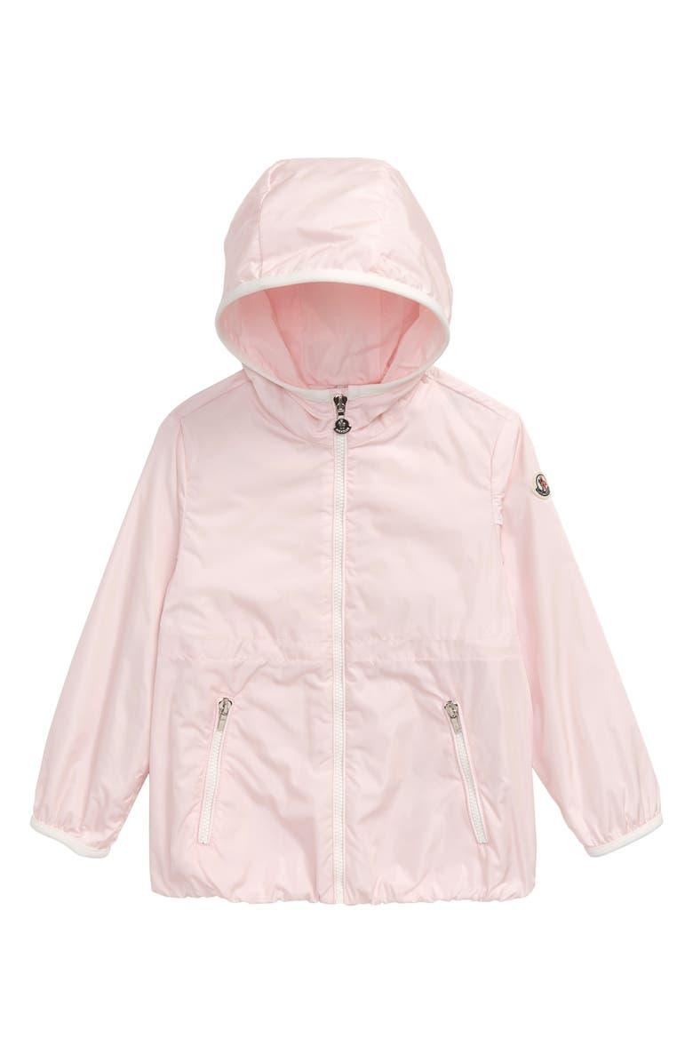 MONCLER Technique Water Resistant Full Zip Jacket, Main, color, 681