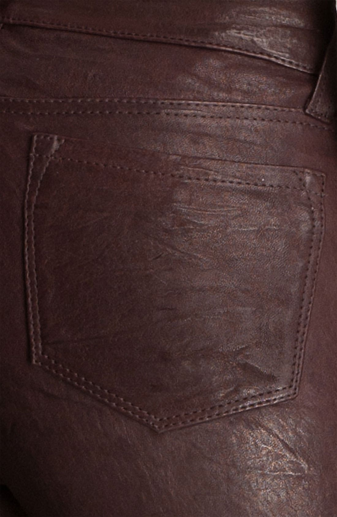 ,                             '8001' Lambskin Leather Pants,                             Alternate thumbnail 81, color,                             930