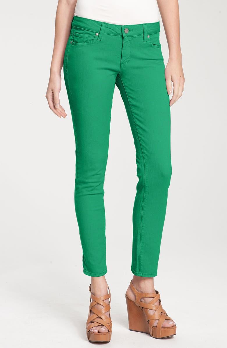 PAIGE Denim 'Skyline' Skinny Stretch Ankle Jeans, Main, color, 300