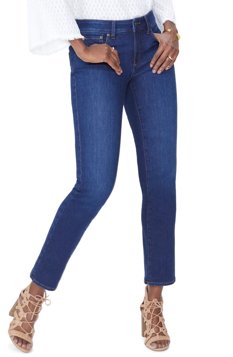 NYDJ Sheri Slim Fit High Waist Jeans, Main, color, 400